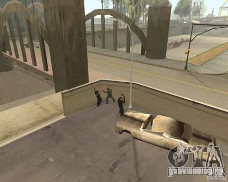 Бешеные бомжи для GTA San Andreas пятый скриншот