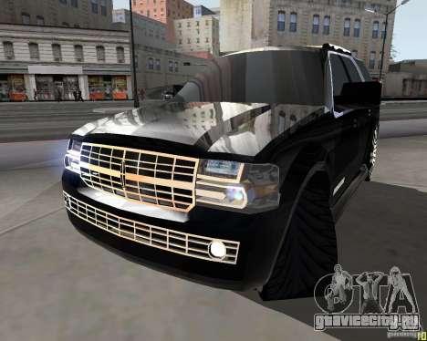Lincoln Navigator для GTA San Andreas вид сзади слева