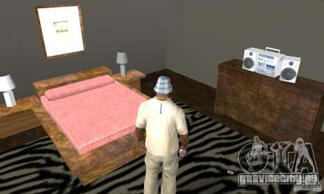 Новые интерьеры безопасных домов для GTA San Andreas десятый скриншот