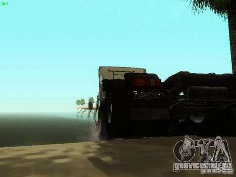 КамАЗ 6460 для GTA San Andreas вид сзади