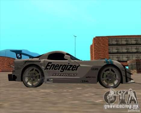 Dodge Viper Energizer для GTA San Andreas вид справа