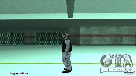 Army Soldier v2 для GTA San Andreas третий скриншот