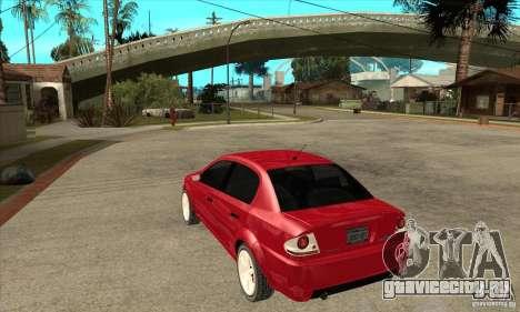 GTA IV Premier для GTA San Andreas вид сзади слева
