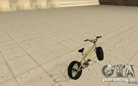 BMX Long для GTA San Andreas вид сзади слева