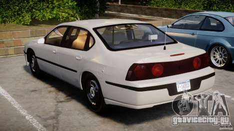 Chevrolet Impala Unmarked Police 2003 v1.0 [ELS] для GTA 4 вид сбоку