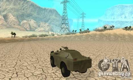 БРДМ-1 Скин 1 для GTA San Andreas вид справа