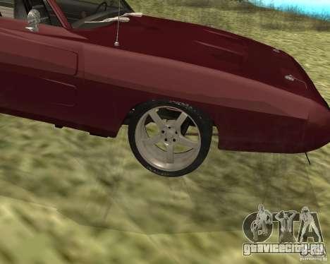 Dodge Charger Daytona для GTA San Andreas вид справа