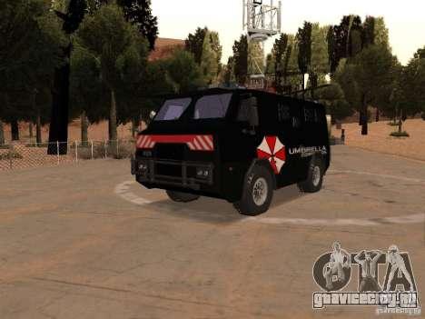 AM 7.0 Umbrella Corporation для GTA San Andreas