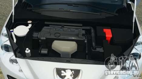 Peugeot 308 GTi 2011 v1.1 для GTA 4 вид сверху