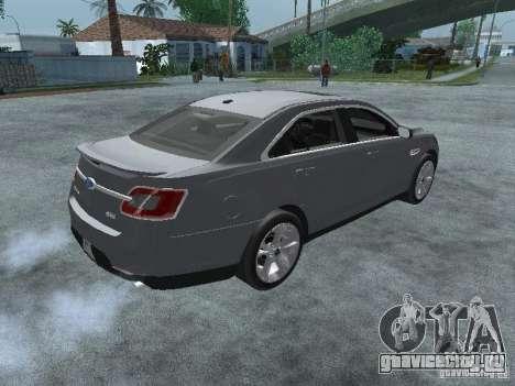Ford Taurus для GTA San Andreas вид сзади слева
