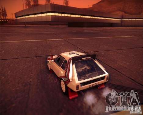 Lancia Delta S4 для GTA San Andreas вид слева