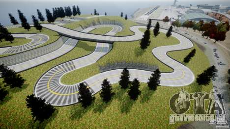 Edem Hill Drift Track для GTA 4 шестой скриншот