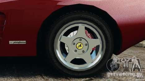 Ferrari Testarossa Spider custom v1.0 для GTA 4 вид сбоку