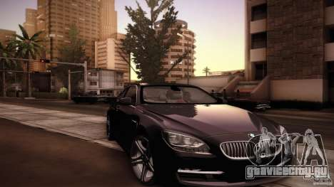 BMW 640i Coupe для GTA San Andreas вид сверху
