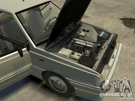 FSO Polonez для GTA 4 вид изнутри