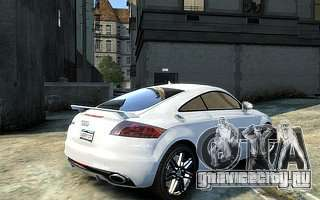 Audi TT RS 2010 для GTA 4 вид слева
