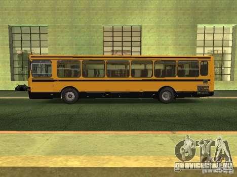 ЛиАЗ 5256.26-01 для GTA San Andreas вид слева