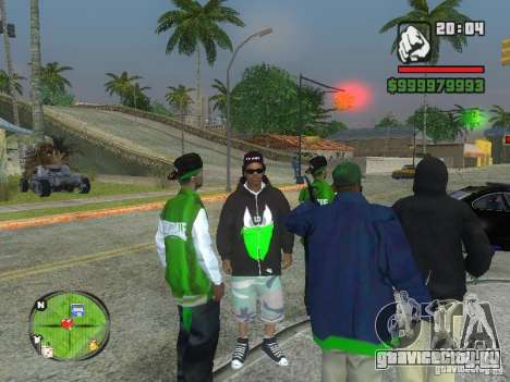NEW Ryder для GTA San Andreas третий скриншот