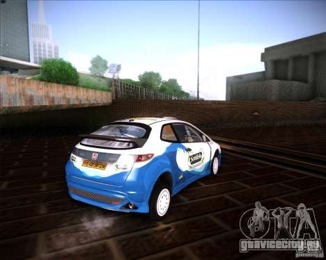 Honda Civic Type-R (Rally team) для GTA San Andreas