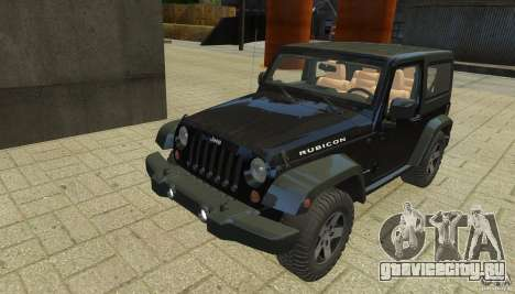 Jeep Wrangler Rubicon 2012 для GTA 4