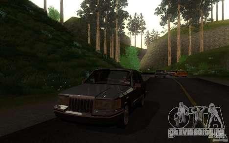 Lincoln Towncar 1991 для GTA San Andreas вид сбоку