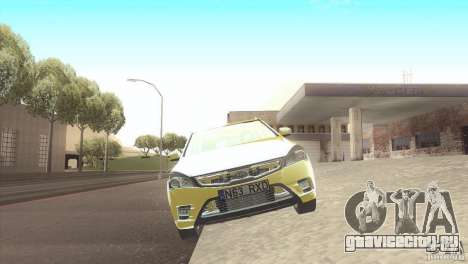 Kia Ceed для GTA San Andreas вид сзади слева