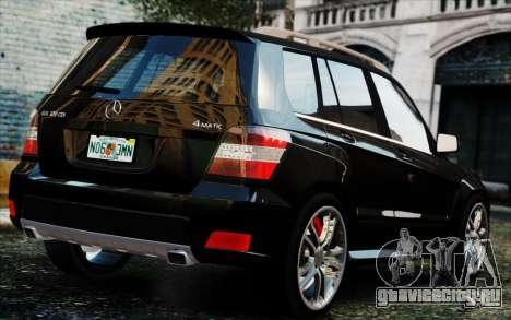 Mercedes-Benz GLK 320 CDI для GTA 4 вид слева