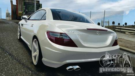 Mercedes-Benz SLK 2012 v1.0 [RIV] для GTA 4 вид сзади слева