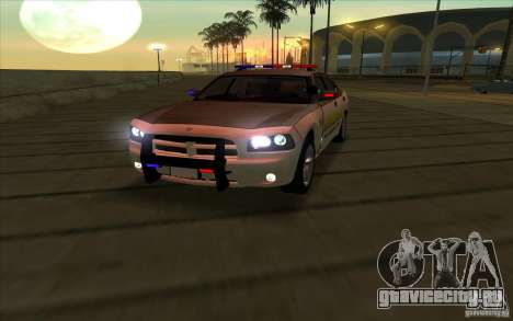 County Sheriffs Dept Dodge Charger для GTA San Andreas
