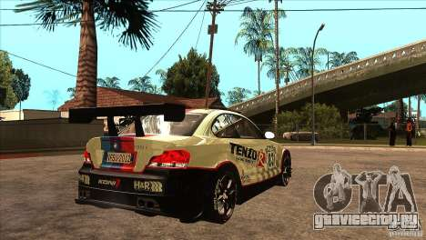 BMW 135i Coupe GP Edition Skin 1 для GTA San Andreas вид справа