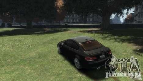 BMW M3 для GTA 4 вид слева