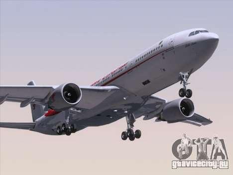 Airbus A330-203 Air Algerie для GTA San Andreas вид слева