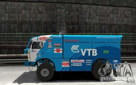 КамАЗ 4911 Rally МАСТЕР для GTA 4 вид слева