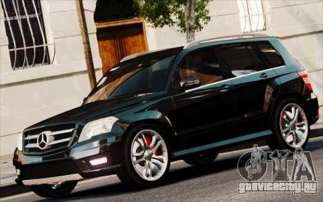 Mercedes-Benz GLK 320 CDI для GTA 4 вид сзади слева