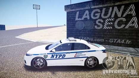 Honda Accord Type R NYPD (City Patrol 7605) ELS для GTA 4
