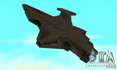 Republic Attack Cruiser Venator class v3 для GTA San Andreas