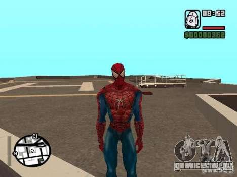 Spider Man From Movie для GTA San Andreas четвёртый скриншот