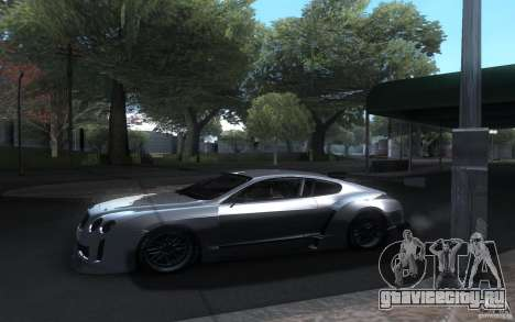 Bentley Continental Super Sport Tuning для GTA San Andreas вид изнутри