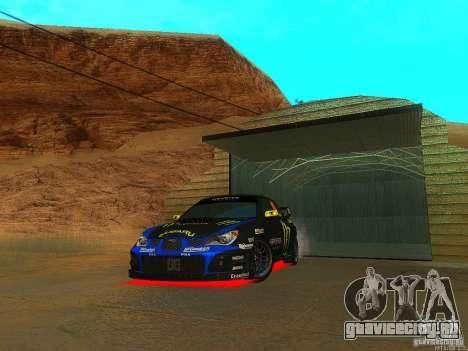 Subaru Impreza Gymkhana Practice для GTA San Andreas