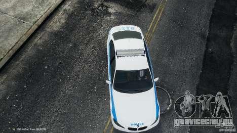 NYPD BMW 350i для GTA 4 вид изнутри