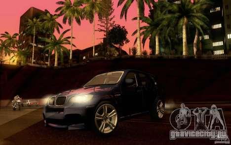 BMW X5M  2011 для GTA San Andreas вид сбоку