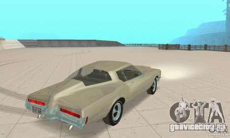 Buick Riviera 1972 Boattail для GTA San Andreas вид слева