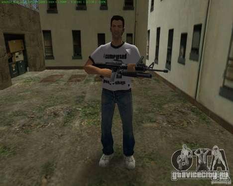 М-16 из Scarface для GTA Vice City четвёртый скриншот