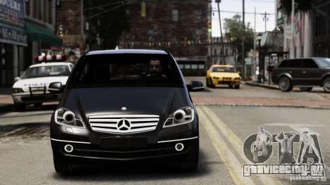 Mercedes Benz A200 Turbo 2009 для GTA 4 вид слева