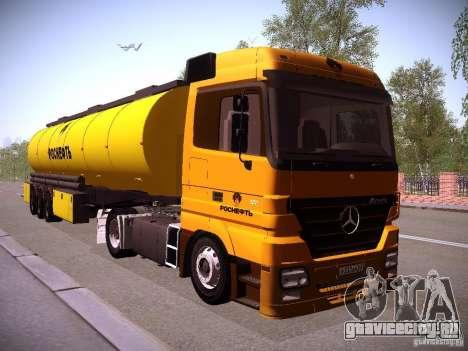 Прицеп к Mercedes-Benz Actros РосНефть для GTA San Andreas