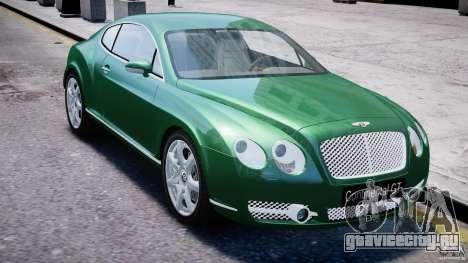 Bentley Continental GT для GTA 4 вид сбоку