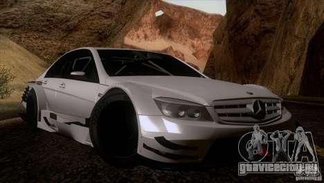 Mercedes Benz C-Class Touring 2008 для GTA San Andreas вид изнутри