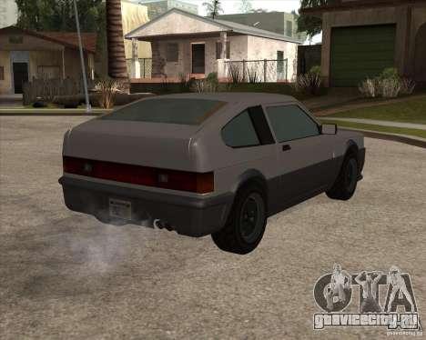 Улучшенная Blistac для GTA San Andreas вид справа