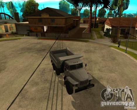 Урал 55571 Самосвал для GTA San Andreas вид слева