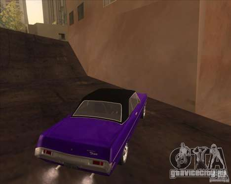 1971 Plymouth Scamp для GTA San Andreas вид справа